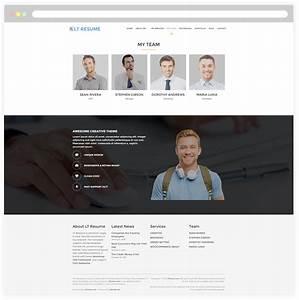 my resume theme wordpress sidemcicekcom With free wordpress resume theme