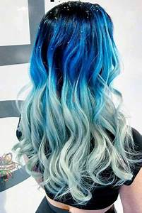 21 BLUE OMBRE HAIR STYLES FOR DARING WOMEN – My Stylish Zoo