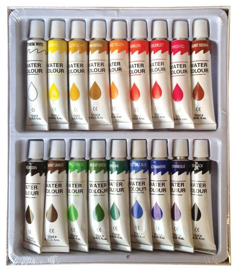 water color set 18 pc watercolor paints set professional artist painting