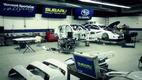 launch control subaru rally  rallycross teams prepare