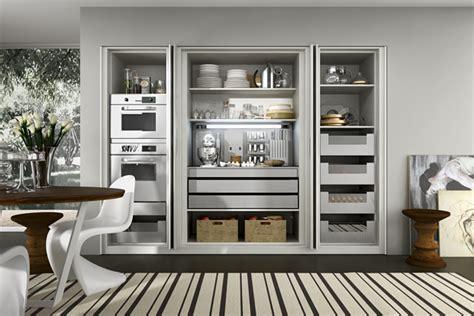 diseno de cocinas elegantes combina lineas simples en