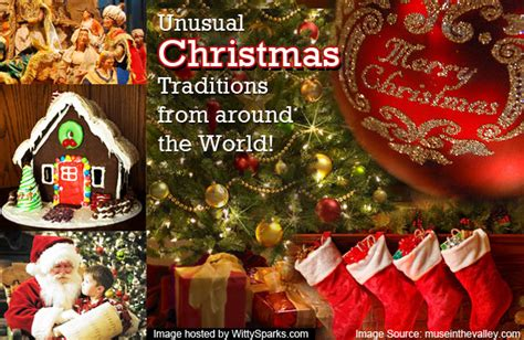 what is christmas called traditions from around the world
