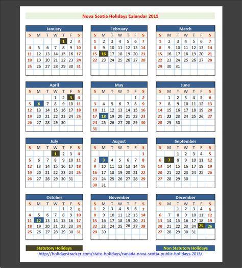 nova scotia canada public holidays  holidays tracker