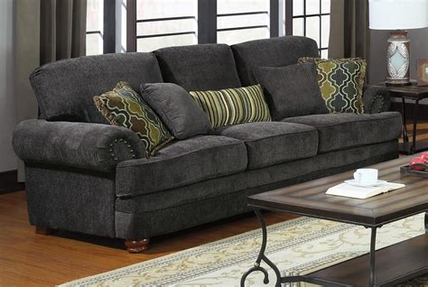Grey And Loveseat colton grey sofa from coaster 504401 coleman furniture
