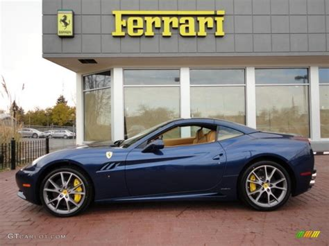 Blue ferrari california maranello italy maranello italy. 2011 Tour de France Blue Ferrari California #39943179 Photo #2   GTCarLot.com - Car Color Galleries