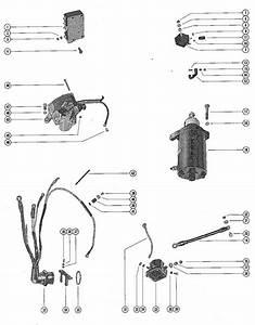 Mercury Marine 500 Starter Motor  Starter Solenoid