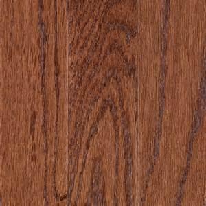 mohawk 3 07 in w prefinished handscraped oak locking hardwood flooring gunstock oak lowe 39 s