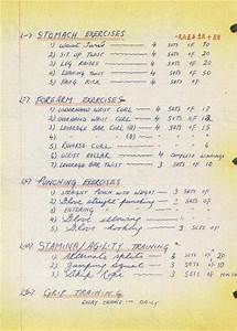 bruce lees exercise and bruce lees training schedule bruce lee pinterest