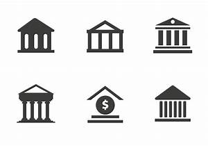 Free Bank Icon Vector - Download Free Vector Art, Stock ...