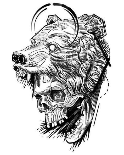 Pin by Robert Sammarco on Tattoo ideas | Bear tattoos, Dark tattoo, Viking tattoos