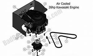 Bad Boy Parts Lookup 2011 Mz Engine  26hp Kawasaki