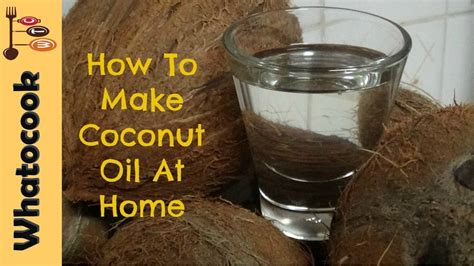 to make at home how to make coconut at home