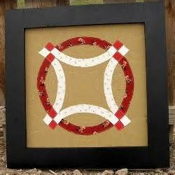 modern double wedding ring wall quilt favequiltscom With modern double wedding ring quilt pattern