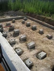 Terrasse Bois Sur Plot Beton : terrasse bois terrasse sur plots b ton ~ Melissatoandfro.com Idées de Décoration