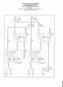 04 Chevy Silverado Heated Seat Wiring Diagram
