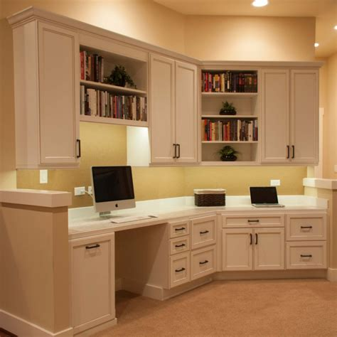 using kitchen cabinets for home office perguero home office cabinets cabinets by trivonna 9576
