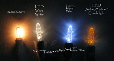 warm white led white led candlelight led lights