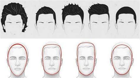 choose   hairstyle   face shape  men