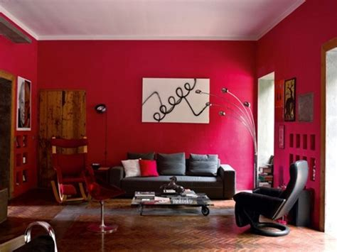 The Pros And Cons Having Red Living Room  Home Design
