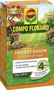 Compo Koniferen Langzeit Dünger : compo floranid herbst rasen langzeit d nger 3 kg bloomling deutschland ~ Frokenaadalensverden.com Haus und Dekorationen