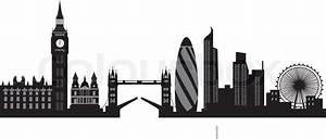 London Skyline Schwarz Weiß : london skyline vektorgrafik colourbox ~ Watch28wear.com Haus und Dekorationen