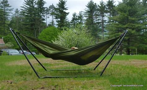 Grand Trunk Hammock Hanging by Grand Trunk Hangout Hammock Stand Review Section Hikers