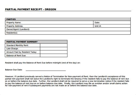 fee receipt format payment receipt 23 download free documents in pdf word