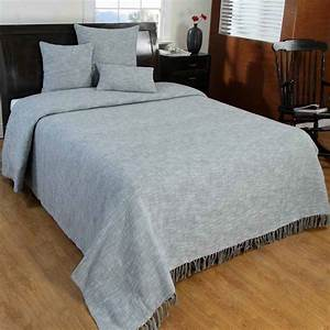 grey handwoven large throw bedspread sofa bed blanket With bed throws and cushions