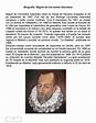 Biografía resumida de miguel de cervantes saavedra by ...