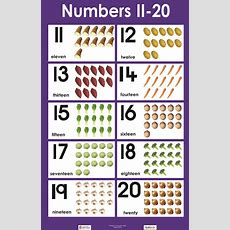 Numbers 1120  Ece Mathematics  Numbers Preschool, Learning Numbers, Preschool