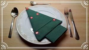 Servietten Tannenbaum Falten : servietten falten weihnachtsbaum tischdeko servietten falten ~ Watch28wear.com Haus und Dekorationen