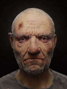 Super Realistic 3D Rendering of a Homeless  Realistic