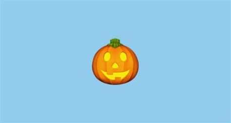 jack  lantern emoji
