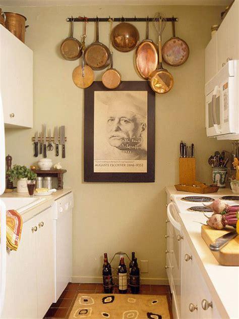 small kitchen hanging storage ideas