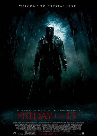 13th Friday Horror Poster Jason Movies Remake