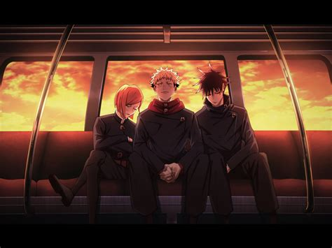 Tons of awesome jujutsu kaisen wallpapers to download for free. 1600x1200 Jujutsu Kaisen Characters 1600x1200 Resolution Wallpaper, HD Anime 4K Wallpapers ...