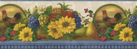 French country kitchen wallpaper borders   Video and