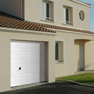 Porte garage sectionnelle cassette novoferm iso 45 for Woodgrain porte garage
