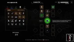The Witcher 3 Blood And Wine General Abilities Inside The