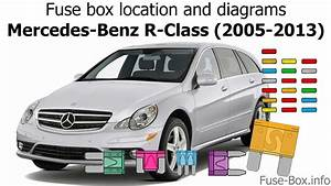 Fuse Box Location And Diagrams  Mercedes-benz R-class  2005-2013