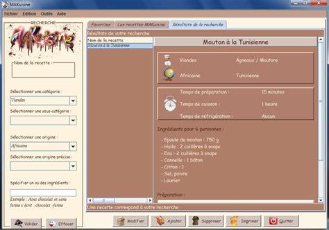 logiciel gestion cuisine 3 logiciels gratuits de recette de cuisine à telecharger