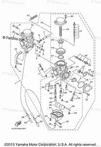 Yamaha Atv 2003 Oem Parts Diagram For Carburetor