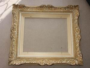 Cadre Marie Louise : cadre bois dor sculpt tableau encadrement ~ Melissatoandfro.com Idées de Décoration