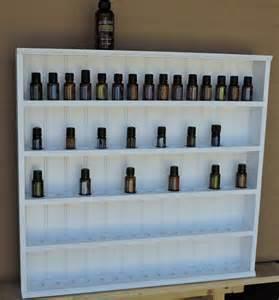 Essential Oil Display Shelf