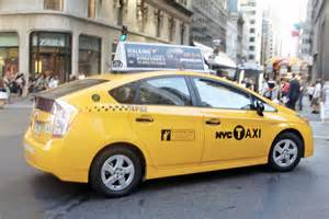 NYC Taxi Toyota Prius