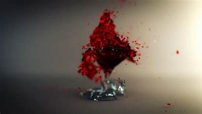 Glass Wine Broken Shattered Desktop Wallpapers Pc