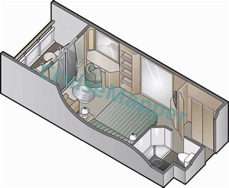 millennium deck plan aqua class millennium cabins and suites cruisemapper