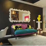 Modern Black House Bright Accents Bright And Cheerful Interior Design By Pavel Polinov Studio