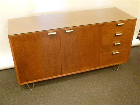 Low Sideboards by George Nelson Low Profile Credenza Sideboard For Herman