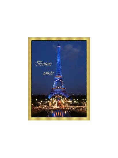 Bonne Nuit Eiffel Tour Bonsoir Bello Maria
